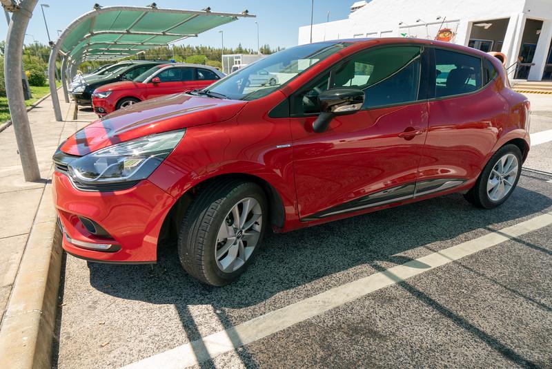 My faithful Renault.