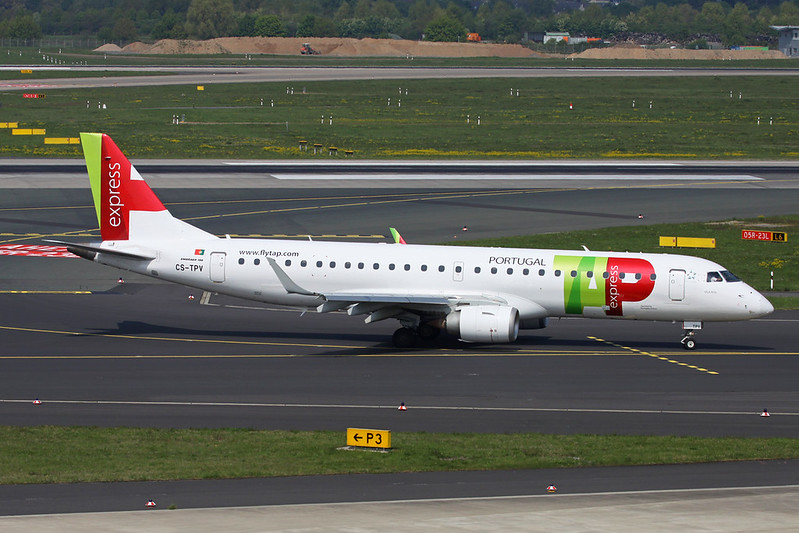 CS-TPV Embraer Emb-190-100LR c/n 19000541 Dusseldorf/EDDL/DUS 20-04-17