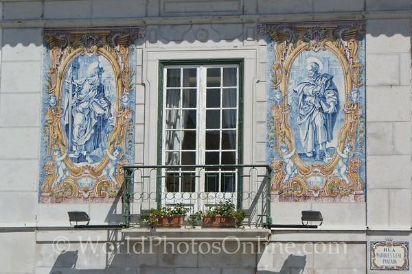 Cascais - Tile Mural of Saints