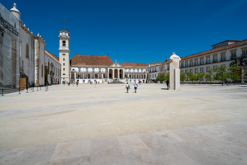 The University of Coimbra was originally founded in Lsbon in 1290. It was moved to Coimbra in 1537. It is one of the oldest universities in the world and has an enrollment of about 25,000.