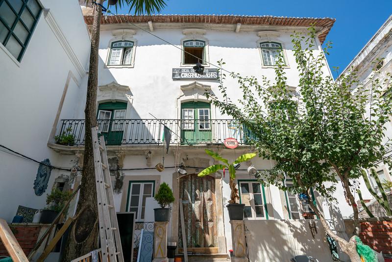 A fraternity house at the Universidade de Coimbra.