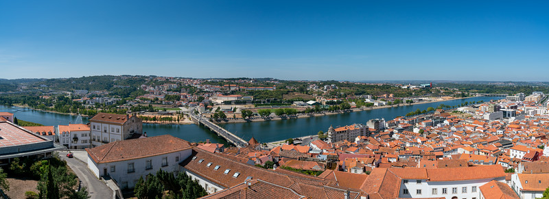 Panorama of Coimbra from the university.