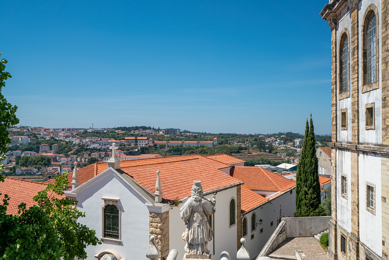 A view of Coimbra from the university.