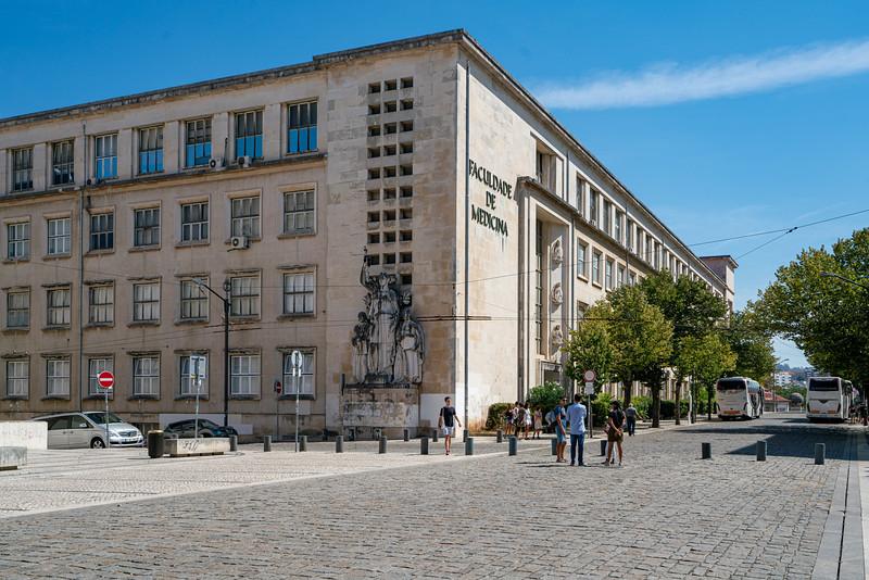 Faculdade de Medicina da Universidade de Coimbra.