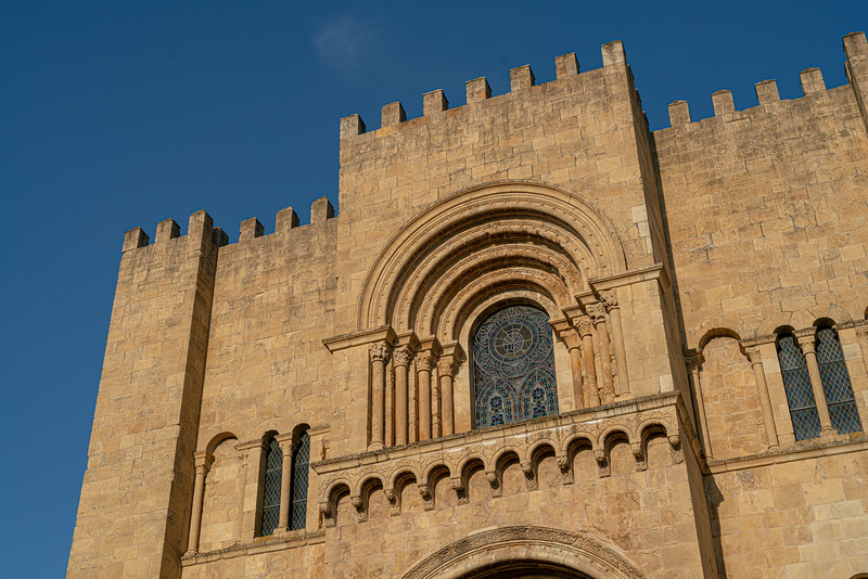 The Old Cathedral (Sé Velha). This was essentailly a church-fortress built in the middle of the Reconquista.
