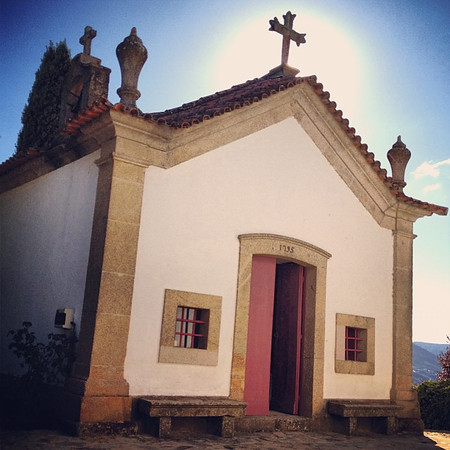 Late afternoon wine chapel at Quinta Nova, Douro Valley, #Portugal #tbupor