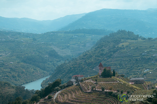 Douro Valley Vineyards and Village - Portugal