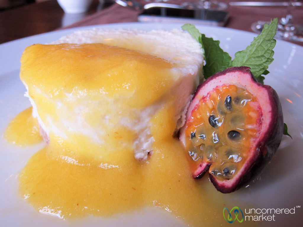 Passionfruit Dessert at Douro Palace Hotel Resort & Spa - Douro Valley, Portugal