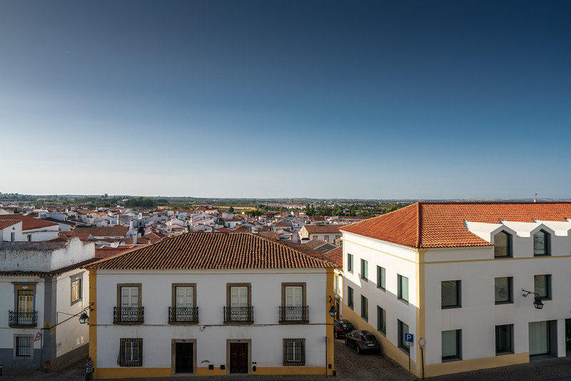 "The ""skyline"" of Evora."