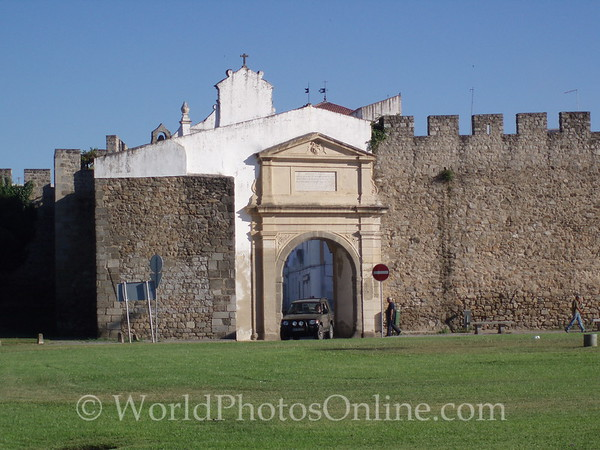 Evora - South Entry Arch into Medieval Town