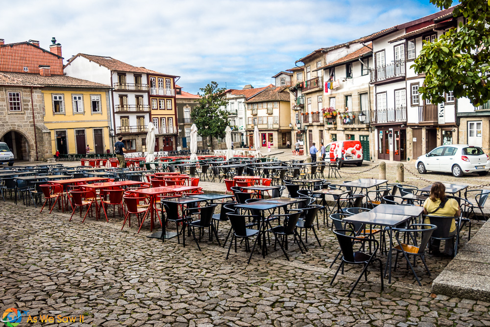Olive Square, Guimaraes Portugal