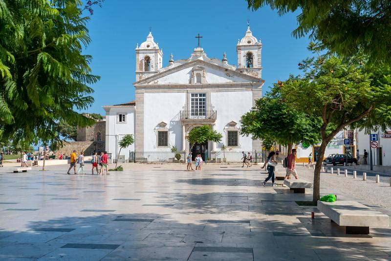 Igreja de Santa Maria in old Lagos.