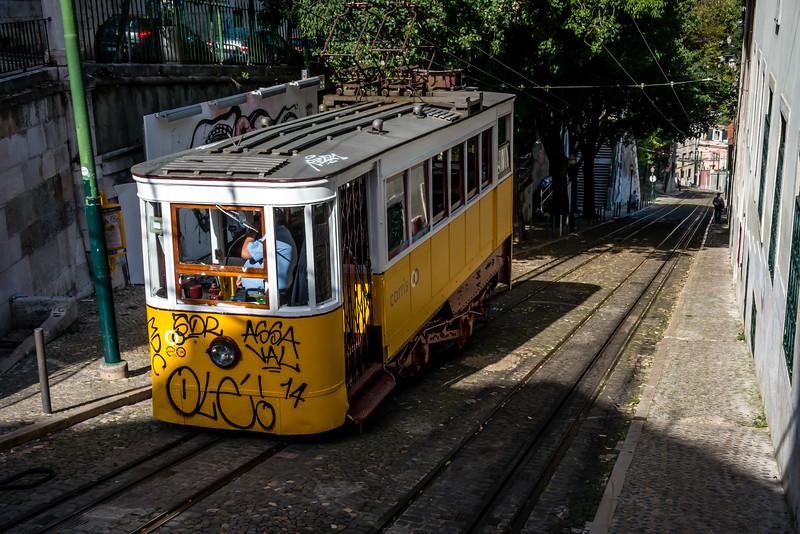 Gloria Funicular, Lisbon