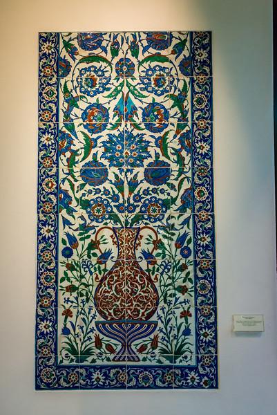 Islamic Tiles, Gulbenkian Museum