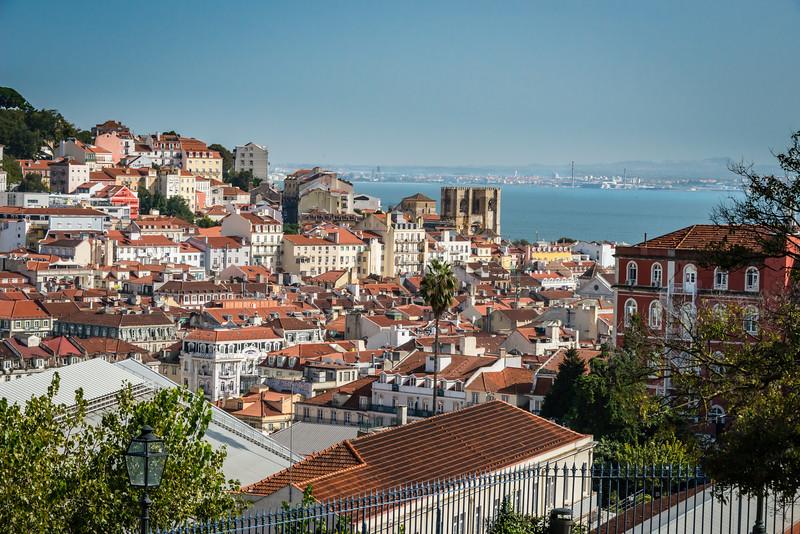Lisbon Portugal Overlook