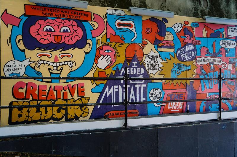 Mural in Lisbon, Portugal