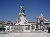 Lisbon - Praca do Comercia - Statue of Dom Jose I & Arco da Victoria