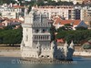 Lisbon - Torre de Belem - 1500's fort was center of river 2