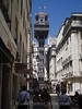 Lisbon - Elevador de Santa Justa - Wrought-iron lift to Carmo Square