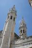 Lisbon - Monastery of Saint Jerome - Towers