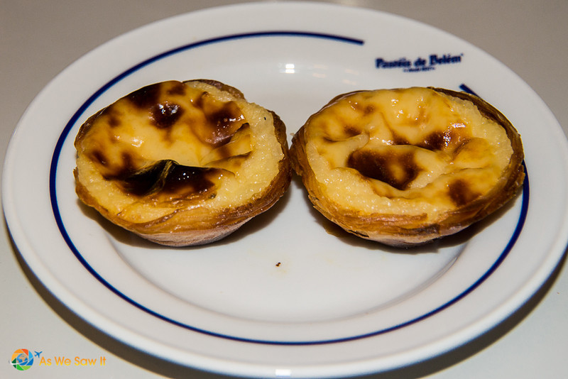 Egg tarts, known as Pasteis de Belem, a must-do on this local's ultimate guide to Lisbon