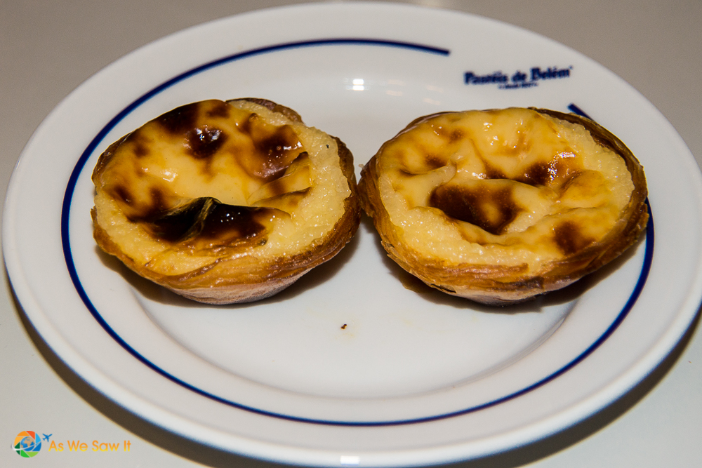 Egg tarts known as Pasteis de Belem, a must-do on this local's ultimate guide to Lisbon