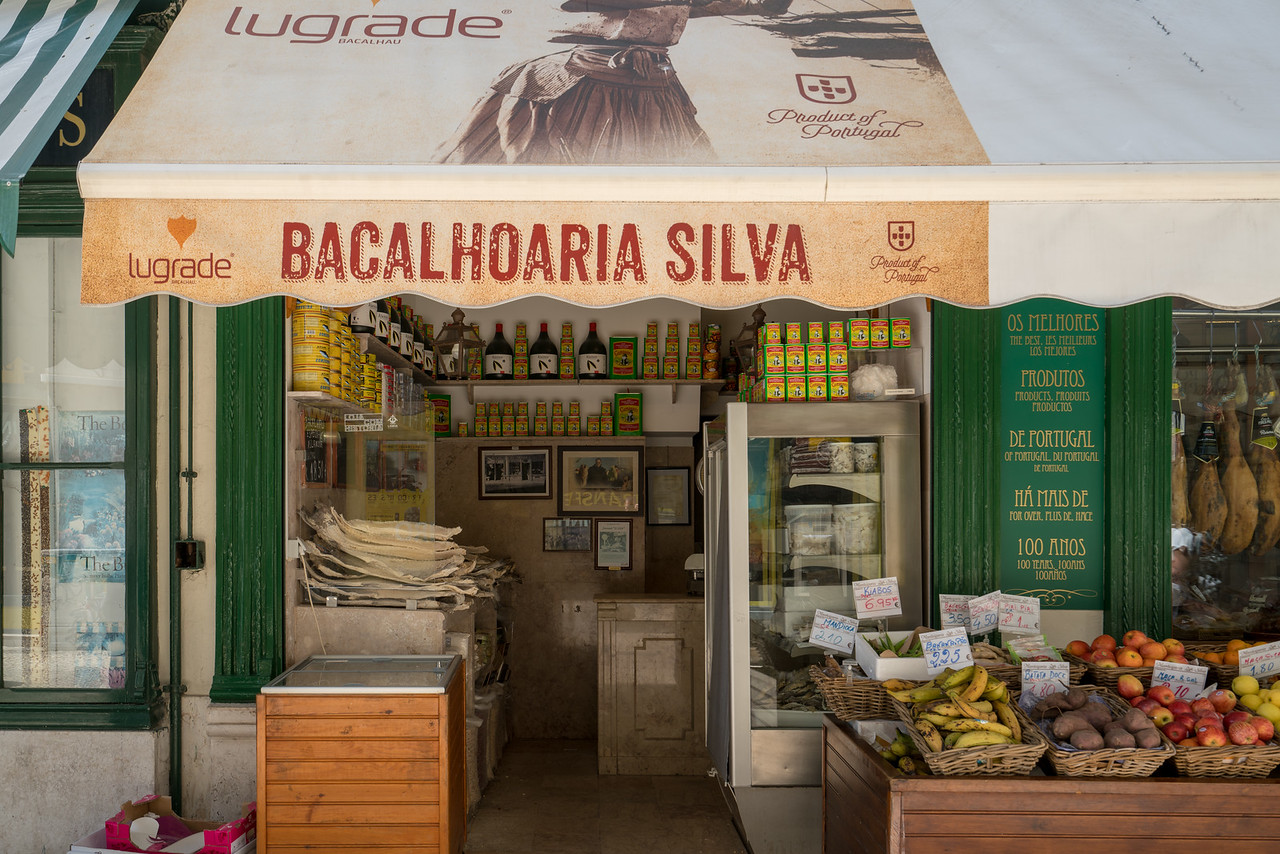 Bacalhoaria Silva is one of the more famous places in Lisbon to get your dried fish.