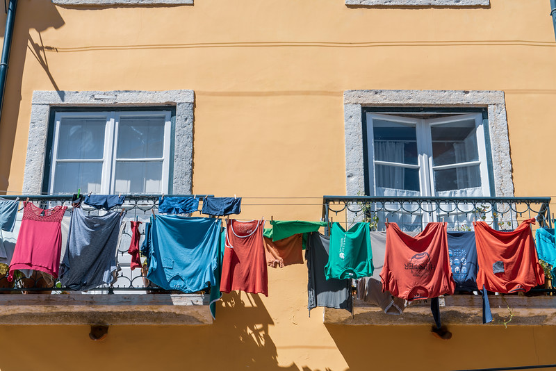 Laundry day in Alfama.