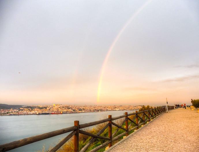 portugal double rainbow
