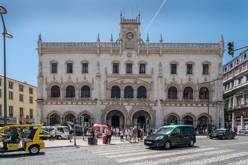 Rossio Train Station.