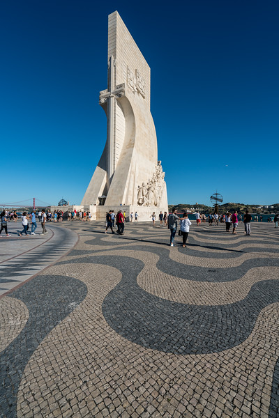 Padrão dos Descobrimentos, Monument to the Discoveries honors the 500th anniversary of the death of Prince Henry the Navigator.
