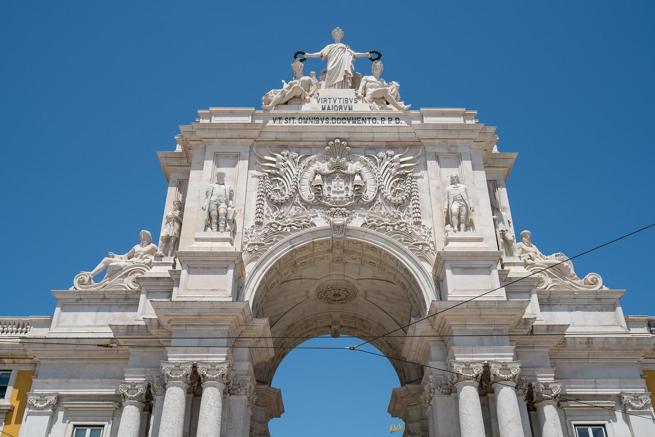 The Arch of Triumph.
