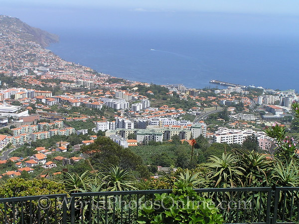 Funchal - View from Pico de Barcelos