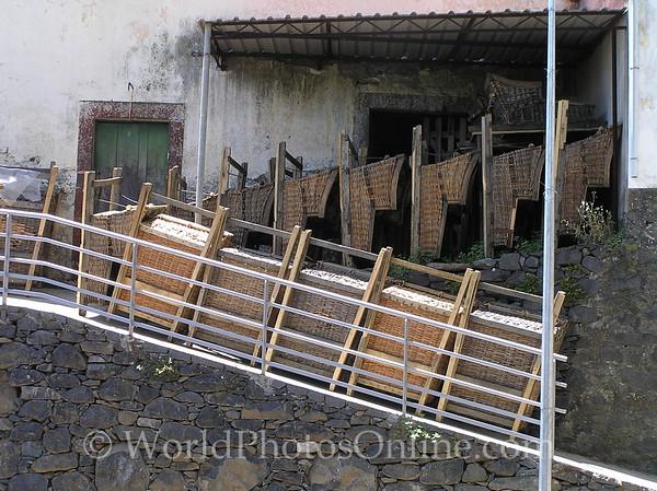 Funchal - Wicker Basket Toboggans