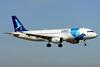 """CS-TKP Airbus A320-214 """"SATA International"""" c/n 2011 Brussels/EBBR/BRU 23-06-14"""