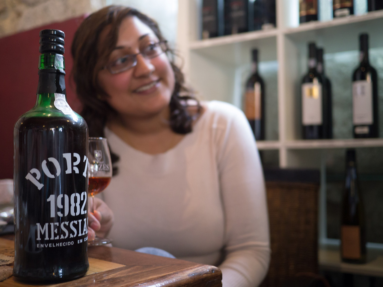 Becca and her 1982 port