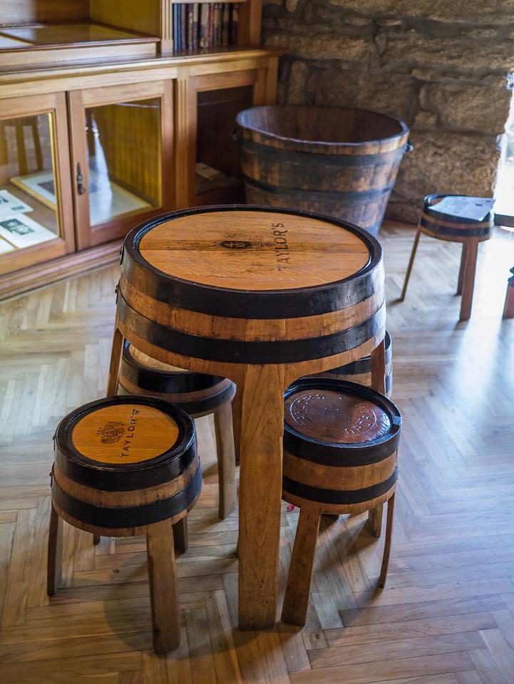 Barrel tables that Becca wants