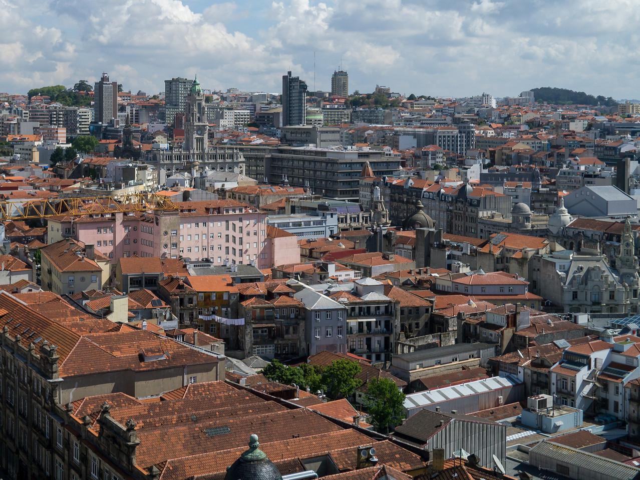 Porto from Torre de los Clérigos