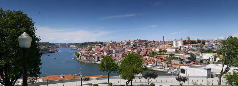 Panorama over Porto and the Douro River