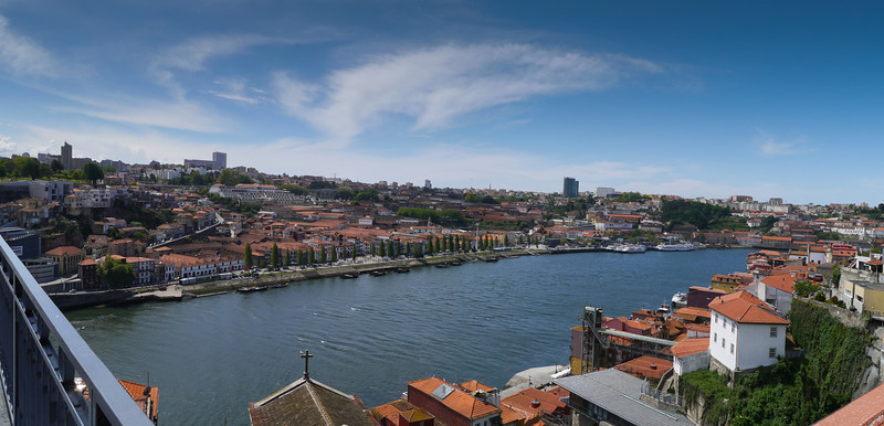 Douro River from Dom Luís Bridge