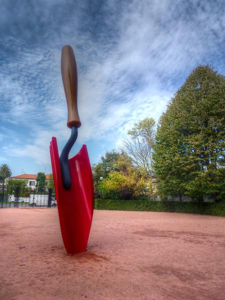 large shovel