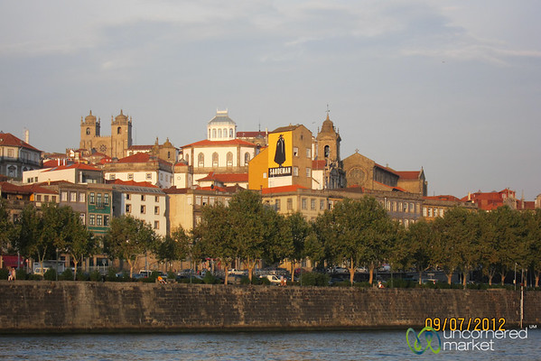 Porto Seen from Duoro River - Portugal