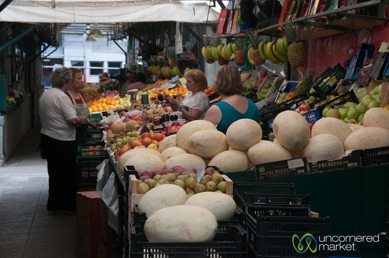 Mercado Bolhão in Porto, Portugal