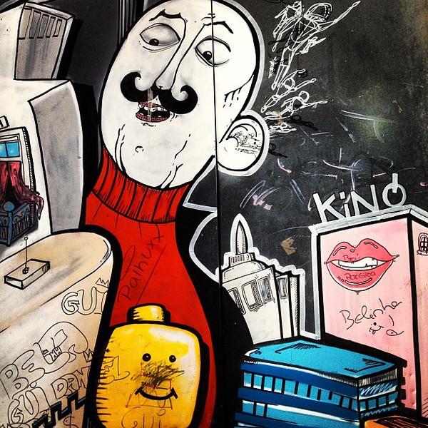 Wee bit o' #streetart, Porto #graffiti #tbupor #toomanyhashtags
