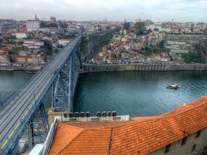 luis i bridge gaia porto