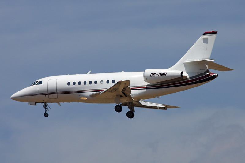 CS-DNR Dassault Falcon 2000 c/n 120 Palma/LEPA/PMI 13-06-16