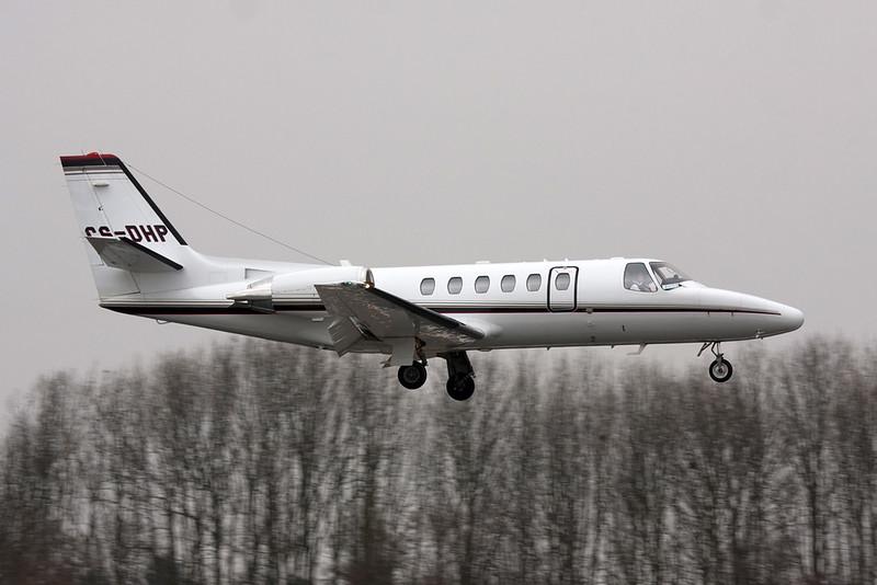 CS-DHP Cessna 550 Citation Bravo c/n 550-1104 Maastricht/EHBK/MST 11-03-10