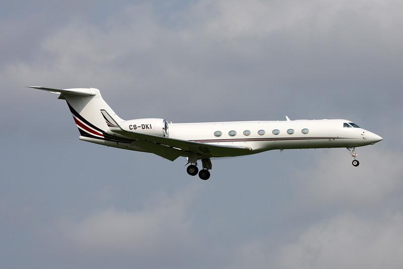 CS-DKI Gulfstream G550 c/n 5166 Zurich/LSZH/ZRH 08-09-17