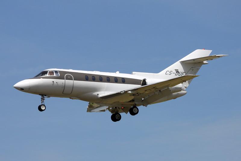CS-DUF Hawker-Siddley 125-750 c/n HB-19 Paris-Le Bourget/LFPB/LBG 10-07-16
