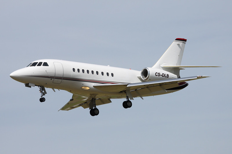 CS-DLB Dassault Falcon 2000EX Easy c/n 80 Paris-Le Bourget/LFPB/LBG 10-07-16